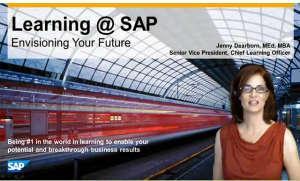 Jenny Dearborn presents the Future of Learning at SAP during one of her fortnightly Coffee Talks.